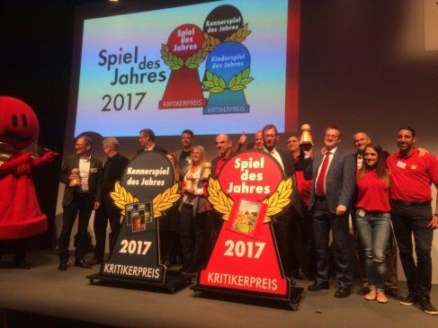 Il vincitore dello Spiel des Jahres 2017…