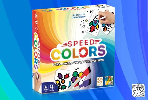 Il gioco di carte Speed Colors disponibile a marzo